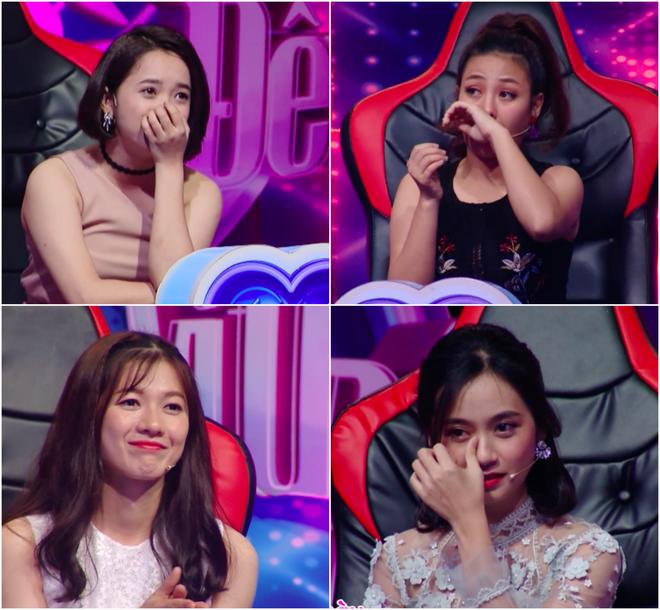 Các cô gái đồng loạt rơi nước mắt vì Hưng Phúc