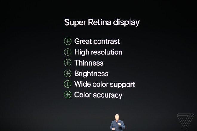 TRỰC TIẾP: Bom tấn iPhone X vừa được Apple giới thiệu với thiết kế không có gì bất ngờ - Ảnh 10.