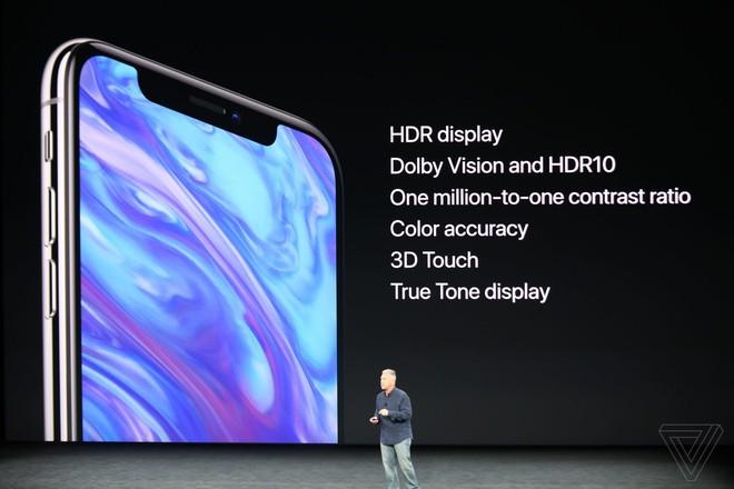 TRỰC TIẾP: Bom tấn iPhone X vừa được Apple giới thiệu với thiết kế không có gì bất ngờ - Ảnh 11.