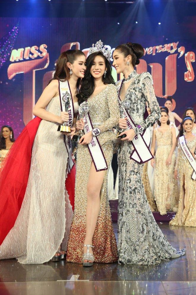 Hoa hậu chuyển giới Thái Lan 2017: Cuộc thi hiếm có cả tân Hoa hậu và Á hậu 1 đều đẹp quá xuất sắc - Ảnh 1.