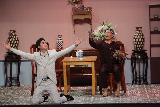 Trấn Thành - Gin Tuấn Kiệt tỏ tình cùng nhau trên sân khấu Ơn giời - Ảnh 5.