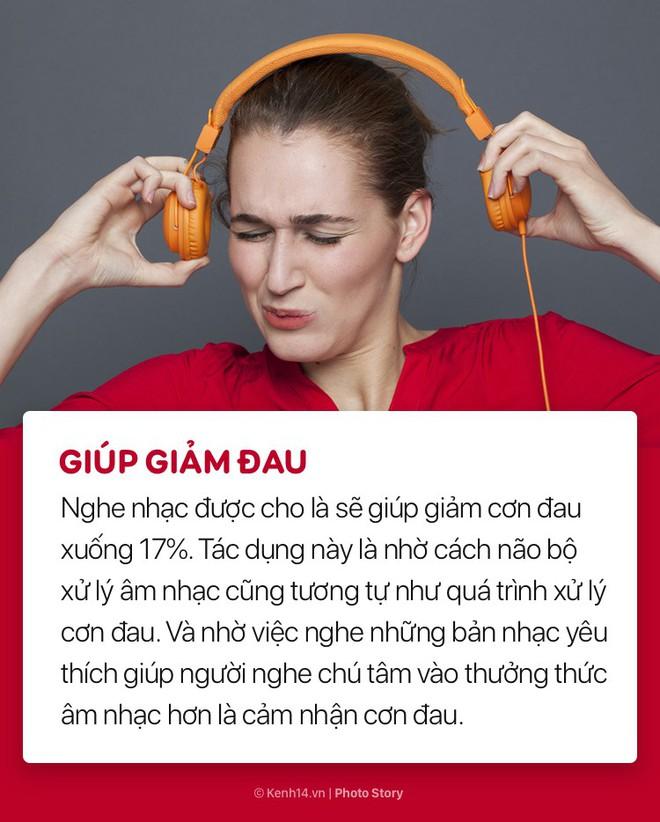 Giảm stress và nhiều lợi ích bất ngờ của việc nghe nhạc đối với sức khoẻ - ảnh 6