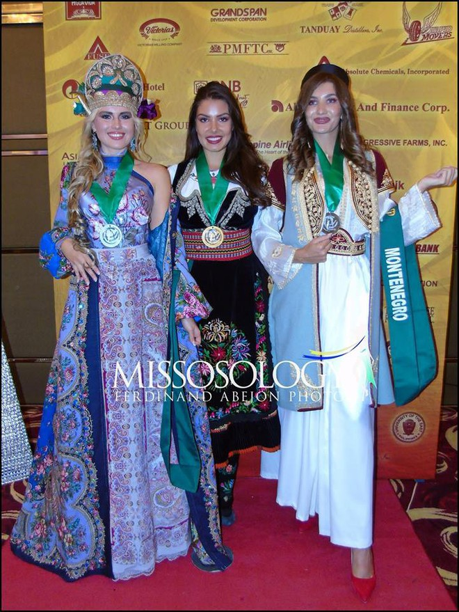 Clip: Đại diện Việt Nam giành huy chương vàng phần thi trình diễn trang phục dân tộc tại Miss Earth 2018 - ảnh 1