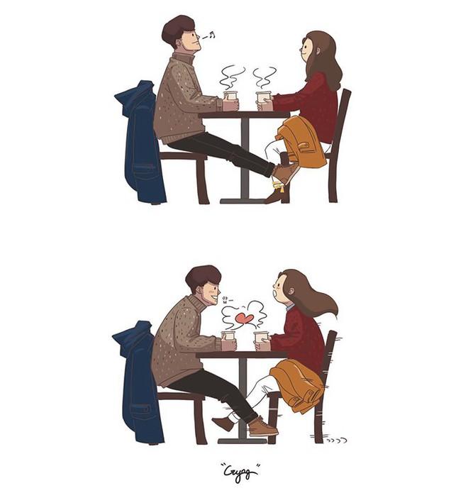 Có những bình yên mang tên anh: Bộ tranh lãng mạn nhất dành cho các cặp đôi mùa lạnh này - ảnh 1