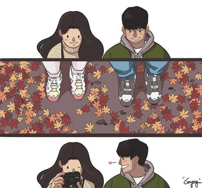 Có những bình yên mang tên anh: Bộ tranh lãng mạn nhất dành cho các cặp đôi mùa lạnh này - ảnh 9