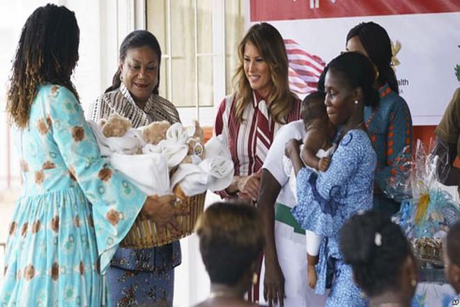 Đệ nhất phu nhân nước Mỹ Melania Trump làm gì trong chuyến công du châu Phi? - ảnh 1
