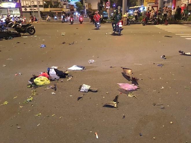 Nóng: Tai nạn kinh hoàng tại ngã tư Hàng Xanh, người bị thuơng nằm la liệt giữa đường - ảnh 4
