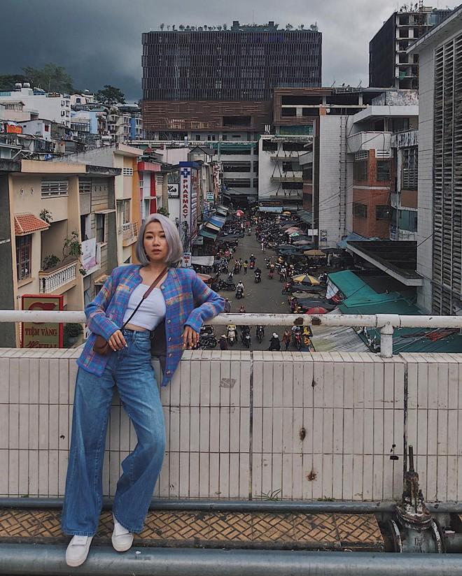 Chụp ảnh style Hồng Kông trong phút mốt ở ngay góc chợ Đà Lạt - ảnh 4