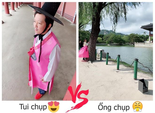 Nhã Phương đăng ảnh so sánh, ẩn ý trách móc Trường Giang chuyên chụp ảnh xấu cho mình - Ảnh 1.