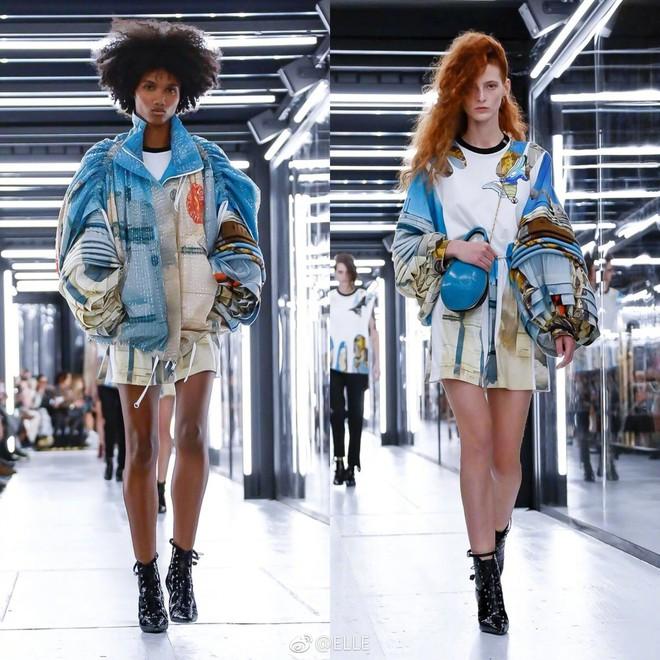 Show Louis Vuitton thiếu vắng Phạm Băng Băng, Thư Kỳ thành mỹ nhân Cbiz khiến dân tình trầm trồ vì style lạ - ảnh 17