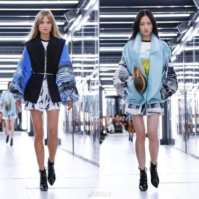 Show Louis Vuitton thiếu vắng Phạm Băng Băng, Thư Kỳ thành mỹ nhân Cbiz khiến dân tình trầm trồ vì style lạ - ảnh 18