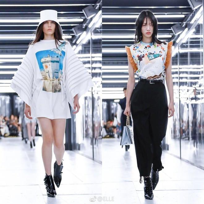 Show Louis Vuitton thiếu vắng Phạm Băng Băng, Thư Kỳ thành mỹ nhân Cbiz khiến dân tình trầm trồ vì style lạ - ảnh 19