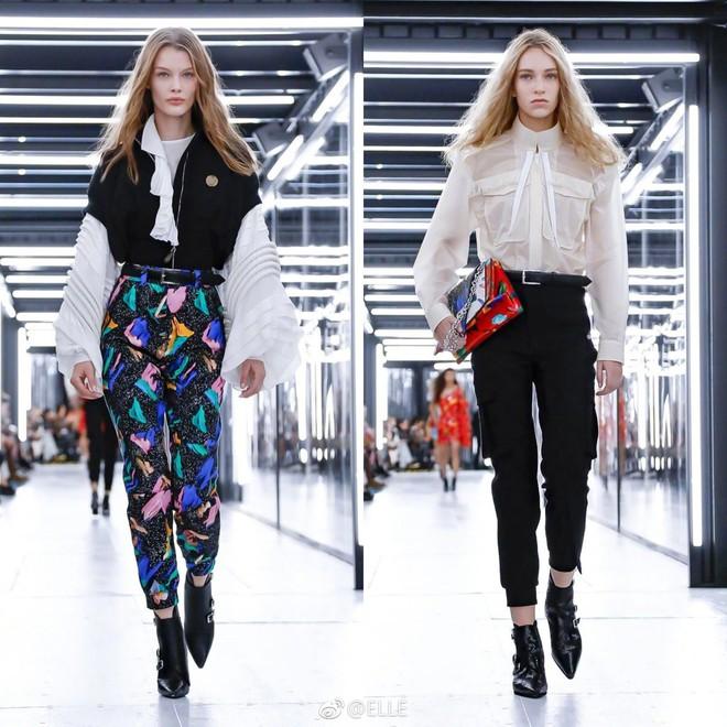 Show Louis Vuitton thiếu vắng Phạm Băng Băng, Thư Kỳ thành mỹ nhân Cbiz khiến dân tình trầm trồ vì style lạ - ảnh 20