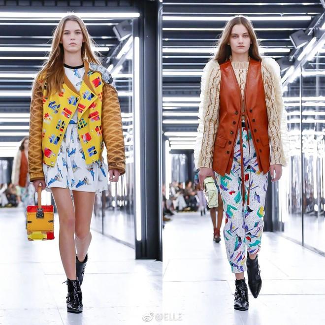 Show Louis Vuitton thiếu vắng Phạm Băng Băng, Thư Kỳ thành mỹ nhân Cbiz khiến dân tình trầm trồ vì style lạ - ảnh 22