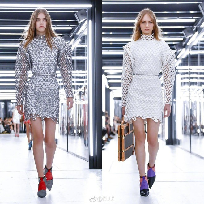 Show Louis Vuitton thiếu vắng Phạm Băng Băng, Thư Kỳ thành mỹ nhân Cbiz khiến dân tình trầm trồ vì style lạ - ảnh 23