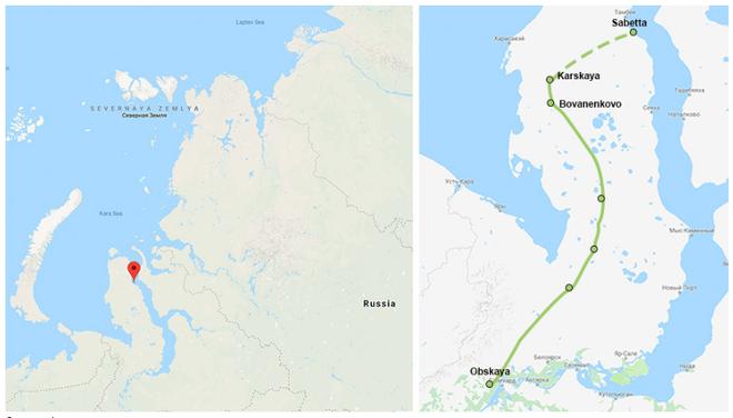 Nga sẽ xây dựng tuyến đường sắt chạy tới Bắc Cực - ảnh 1