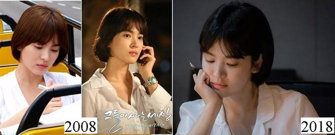 Vẫn biết Song Hye Kyo đẹp, nhưng đến độ để lại kiểu tóc 10 năm trước mà vẫn trẻ y nguyên thì thật khó tin - ảnh 7