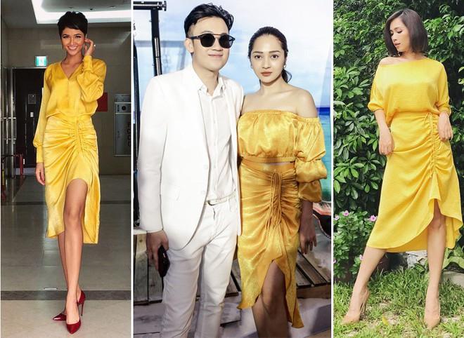 Muốn thành cao thủ mặc đẹpZZZ Bạn hãy nhìn cách H'Hen Niê, Bảo Anh và Ái Phương cùng diện 1 chiếc váy - ảnh 8