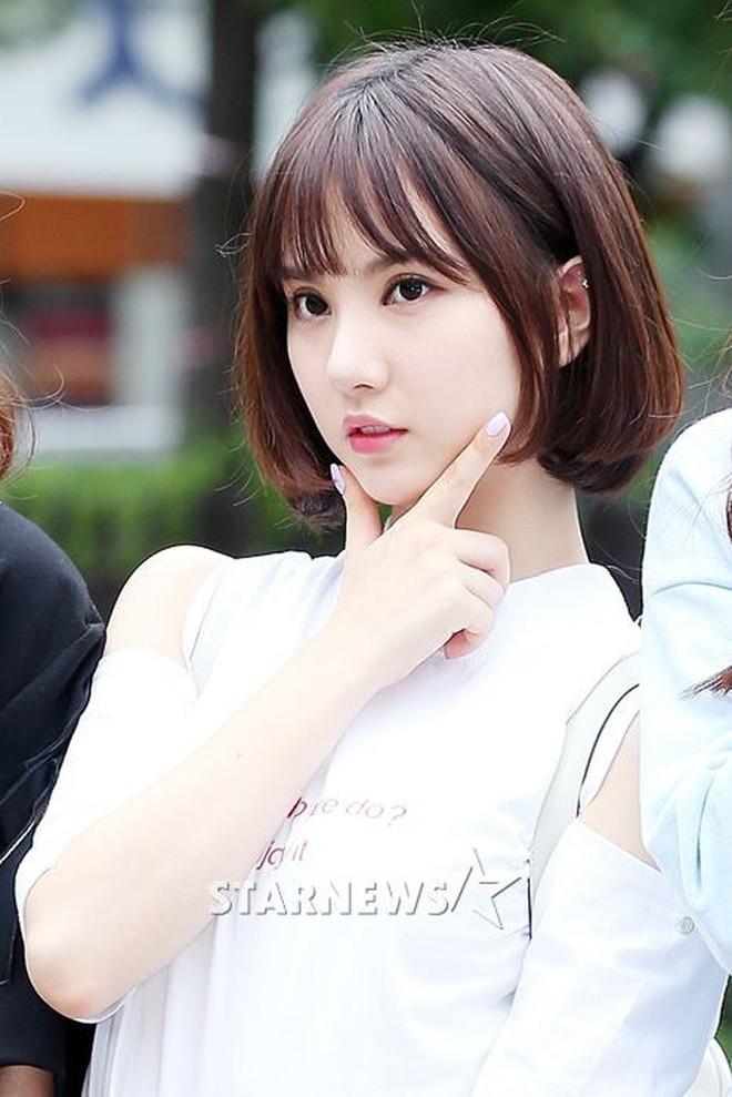 Chưa cần thẩm mỹ, nhiều idol Hàn Quốc vẫn thăng hạng nhan sắc nhờ cắt tóc ngắn - ảnh 4