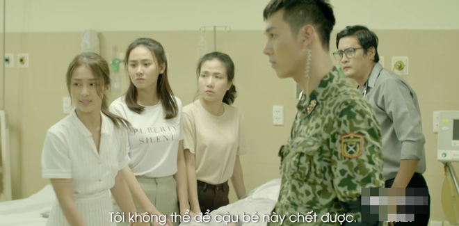 Hậu duệ Mặt trời phiên bản Việt: Khả Ngân khiến khán giả phì cười chỉ với một câu thoại tiếng Anh! - Ảnh 3.