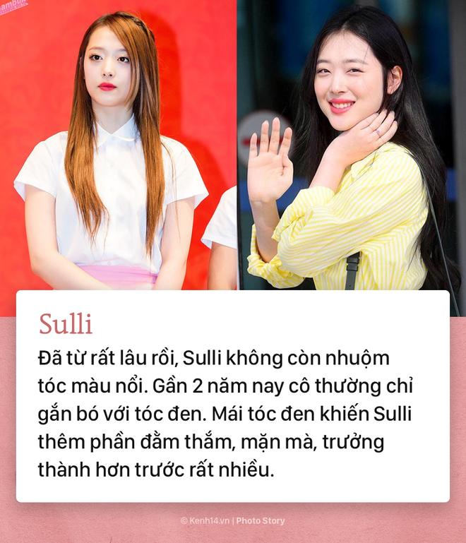 Những idol Kpop để tóc đen xinh lung linh hết phần thiên hạ - ảnh 6