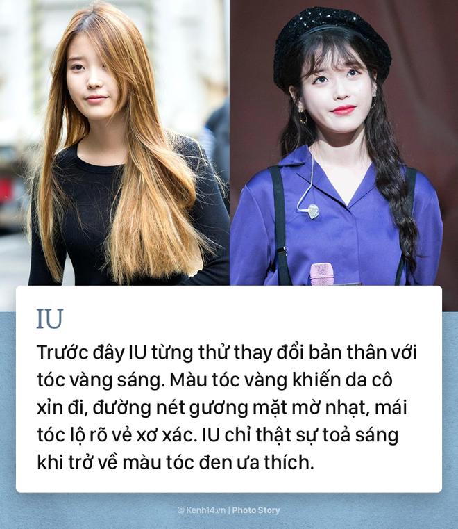Những idol Kpop để tóc đen xinh lung linh hết phần thiên hạ - ảnh 2