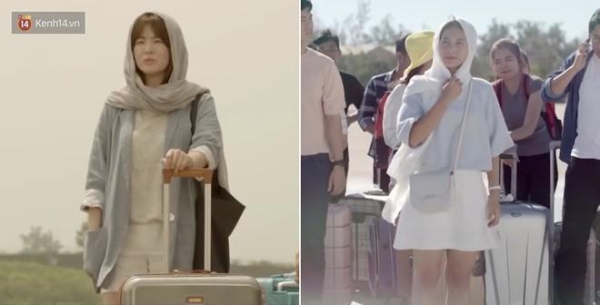 Có tâm như Khả Ngân: Đóng phim remake là cũng diện luôn trang phục giống Song Hye Kyo cho vẹn toàn - ảnh 8