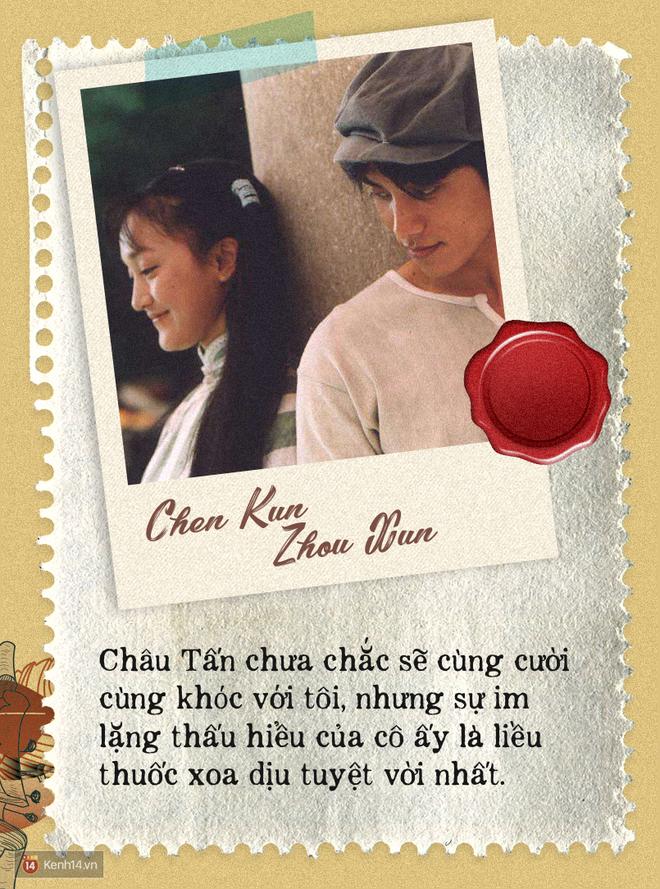 """Trần Khôn – Châu Tấn: Đâu chỉ tình yêu mới có thể hứa hẹn """"đầu bạc răng long""""? - Ảnh 7."""