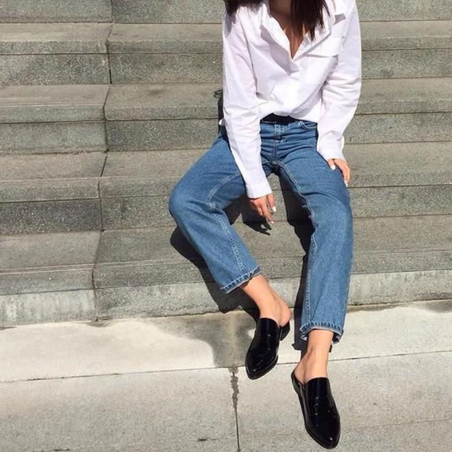 Đây chính là 4 kiểu giày loafer không thể thiếu trong tủ đồ của nàng công sở - ảnh 20