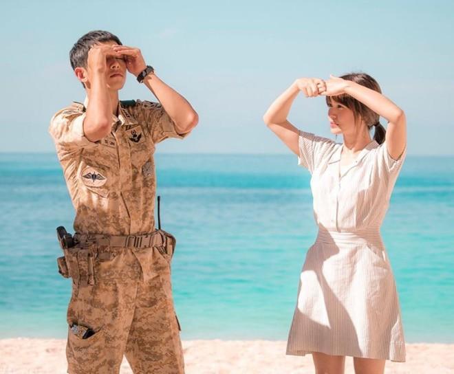 Có tâm như Khả Ngân: Đóng phim remake là cũng diện luôn trang phục giống Song Hye Kyo cho vẹn toàn - ảnh 3