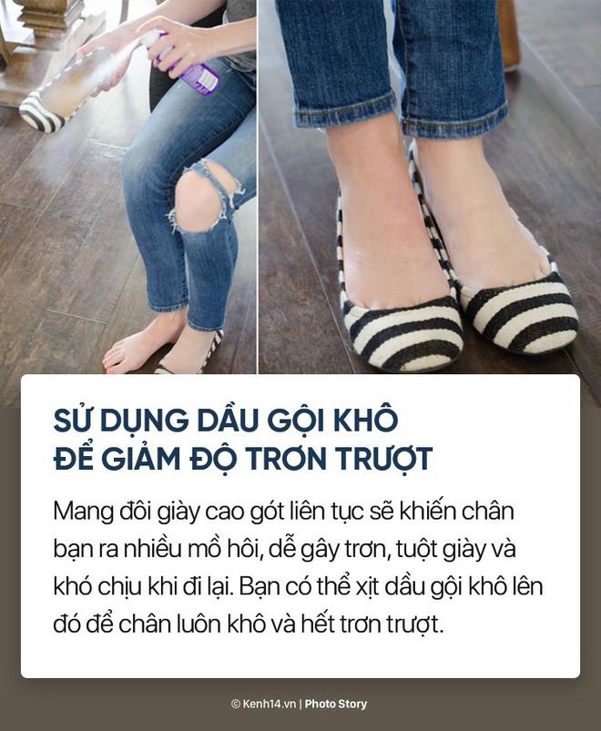 8 mẹo nhỏ để giúp bạn thoải mái hơn khi đi giày cao gót - Ảnh 7.