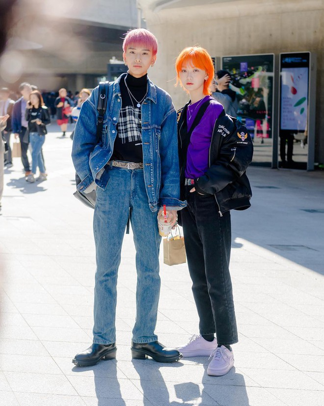 Street style giới trẻ Hàn tuần qua sẽ khiến bạn thốt lên cool quá đáng nhưng tuyệt nhất là bạn hoàn toàn có thể mặc cool như vậy - Ảnh 11.