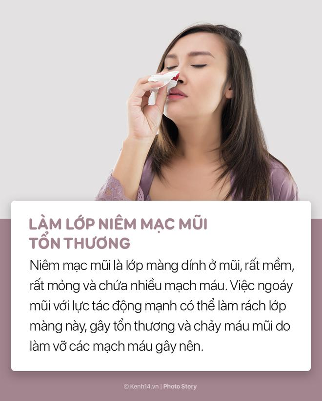 Hãy cẩn thận với thói quen ngoáy mũi tưởng chừng như vô hại của bạn! - Ảnh 1.