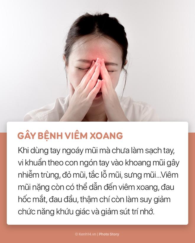 Hãy cẩn thận với thói quen ngoáy mũi tưởng chừng như vô hại của bạn! - Ảnh 3.