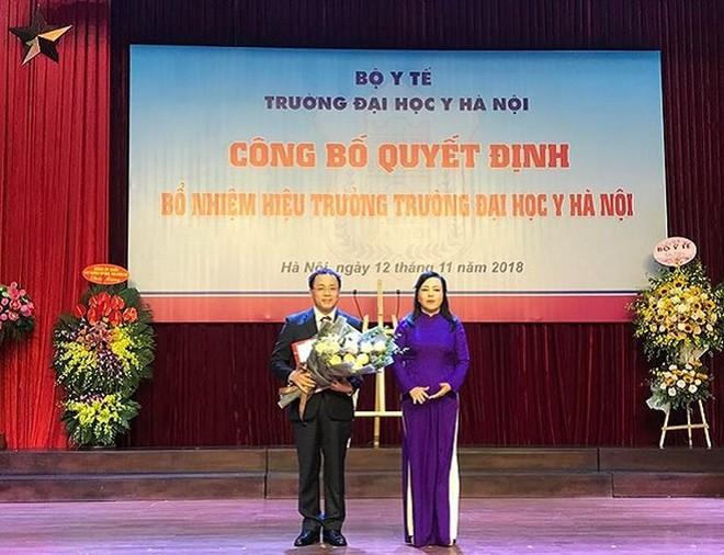 Đại Học Y Hà Nội có tân Hiệu trưởng, sắp xây cơ sở 2 ở Hà Nam - ảnh 1