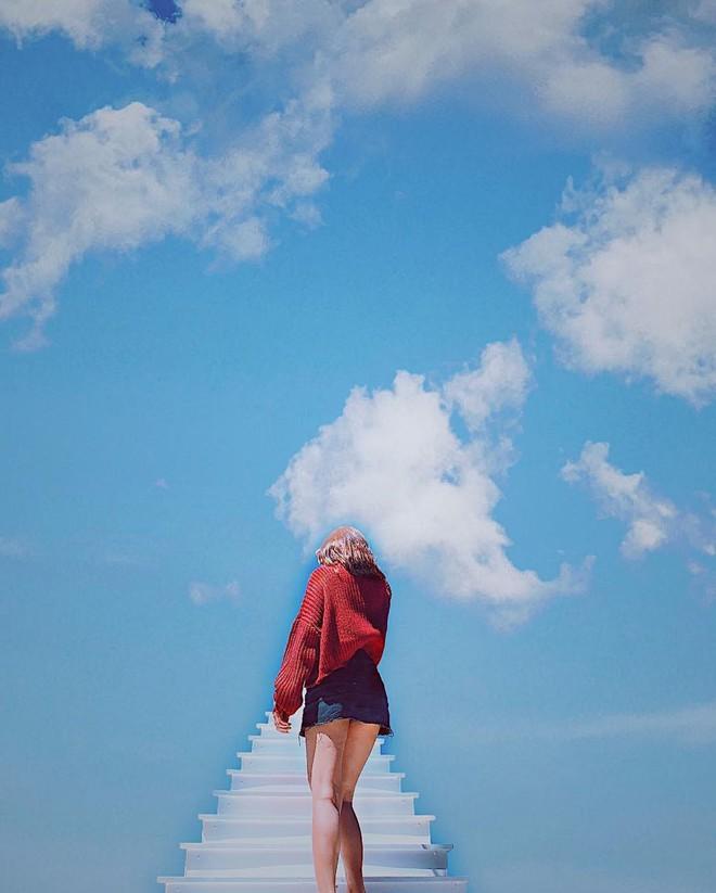 Cầu thang vô cực ở Đà Lạt: Lên Instagram ảo bao nhiêu, ngoài đời phải chen lấn chụp ảnh mệt bấy nhiêu!