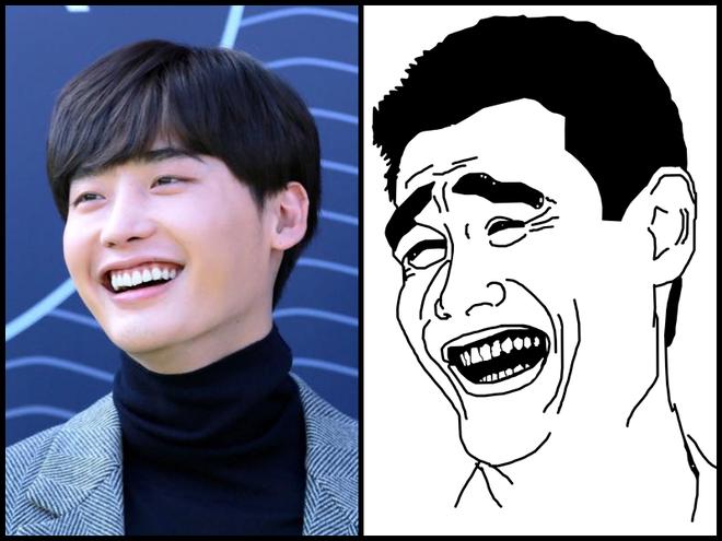 Đây là Lee Jong Suk khi tăng cân, nở một nụ cười mà nhìn y chang Yaoming Meme! - Ảnh 3.