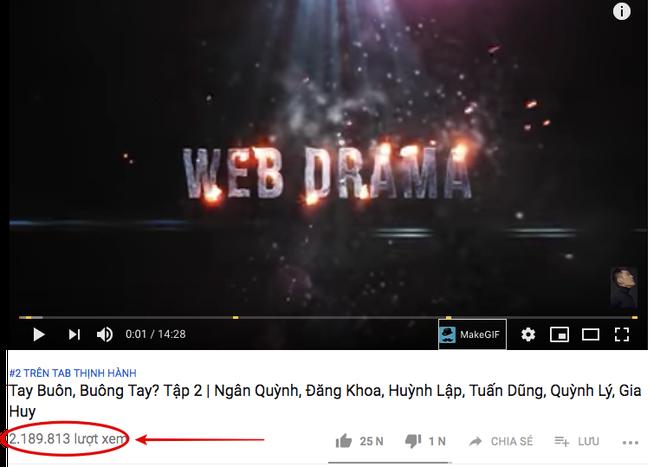 Bà dì bán hột é siêu duyên khiến web drama Tay Buôn, Buông Tay tâp 2 đạt 2 triệu view chỉ sau 1 ngày - ảnh 1
