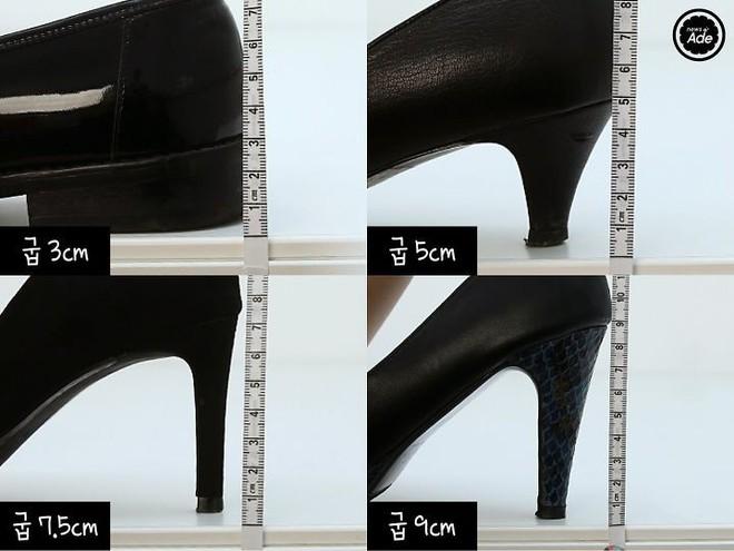 """Đi giày suốt ngày nhưng bạn có biết đâu mới là chiều cao """"chuẩn"""" khiến chân thon nhất? - ảnh 2"""