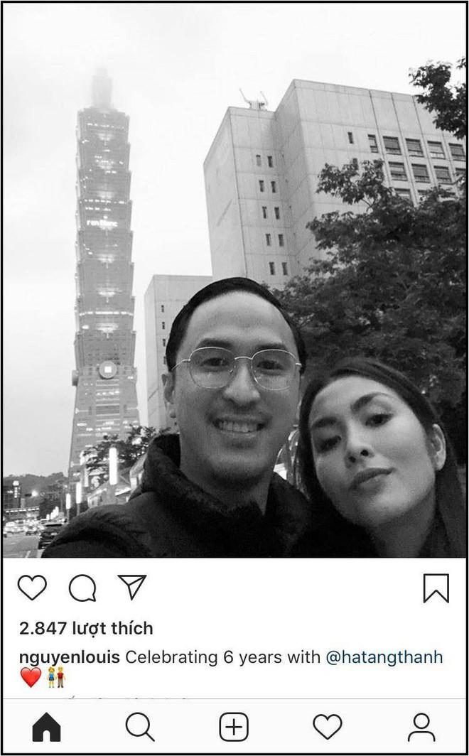 Louis Nguyễn đăng ảnh bình yên bên Tăng Thanh Hà nhân kỷ niệm 6 năm ngày cưới - ảnh 1