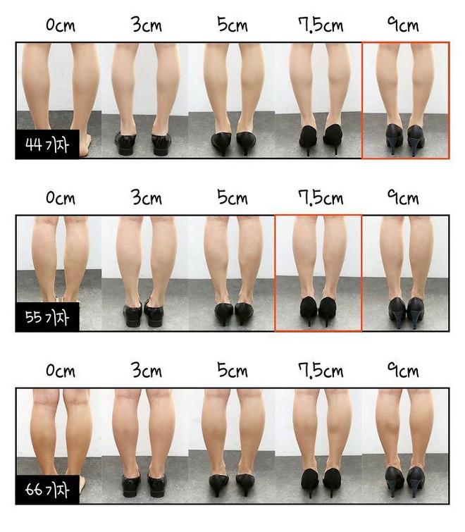 """Đi giày suốt ngày nhưng bạn có biết đâu mới là chiều cao """"chuẩn"""" khiến chân thon nhất? - ảnh 11"""