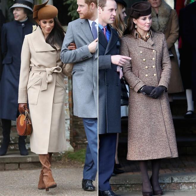 Công nương Meghan và Kate lắm khi mặc trông giống hệt chị em sinh đôi - ảnh 6