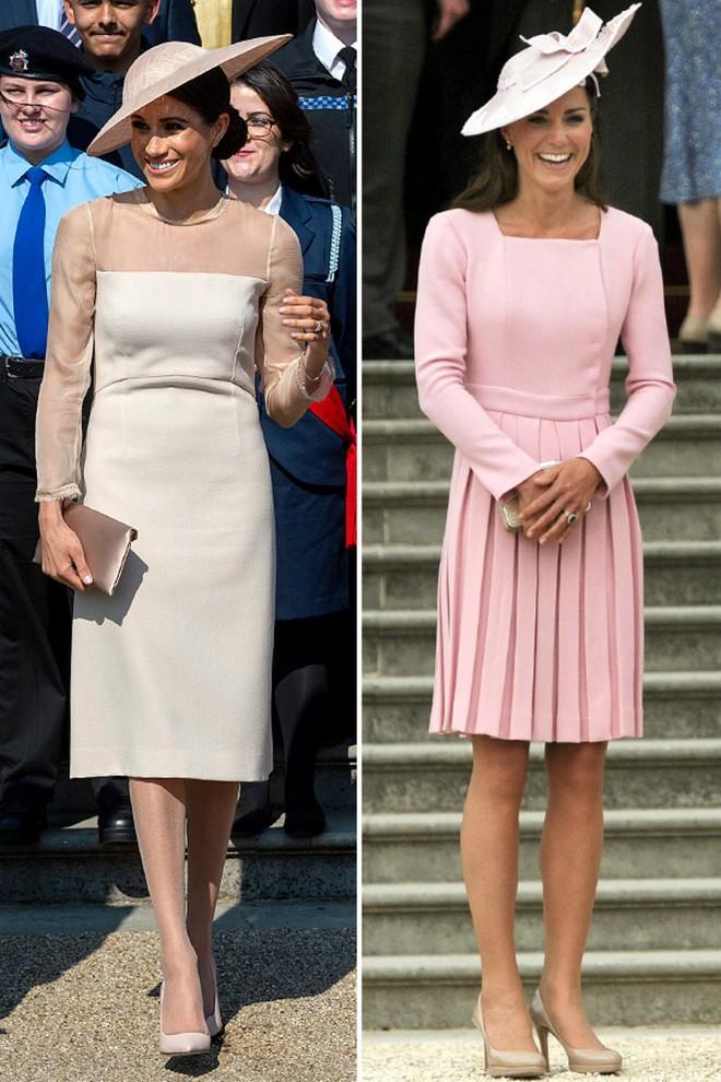 Công nương Meghan và Kate lắm khi mặc trông giống hệt chị em sinh đôi - ảnh 7