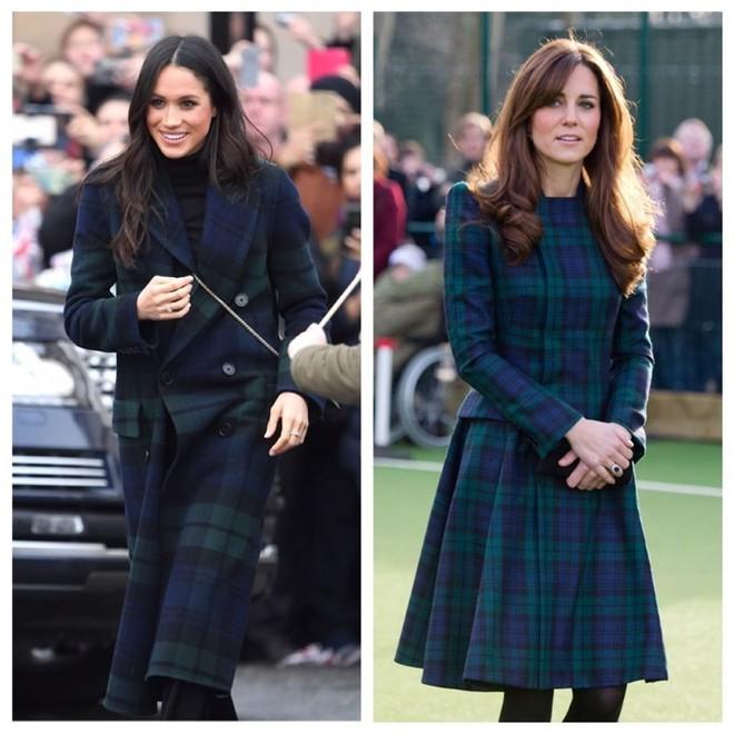 Công nương Meghan và Kate lắm khi mặc trông giống hệt chị em sinh đôi - ảnh 8