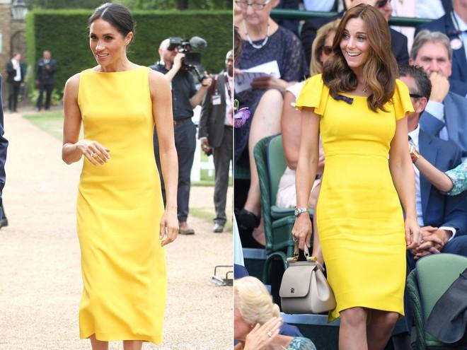 Công nương Meghan và Kate lắm khi mặc trông giống hệt chị em sinh đôi - ảnh 9