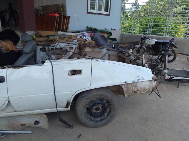 Thanh niên bỏ 60 triệu để mua chiếc ô tô đồng nát rồi chỉ mất hai tháng để biến nó thành siêu xe - Ảnh 3.