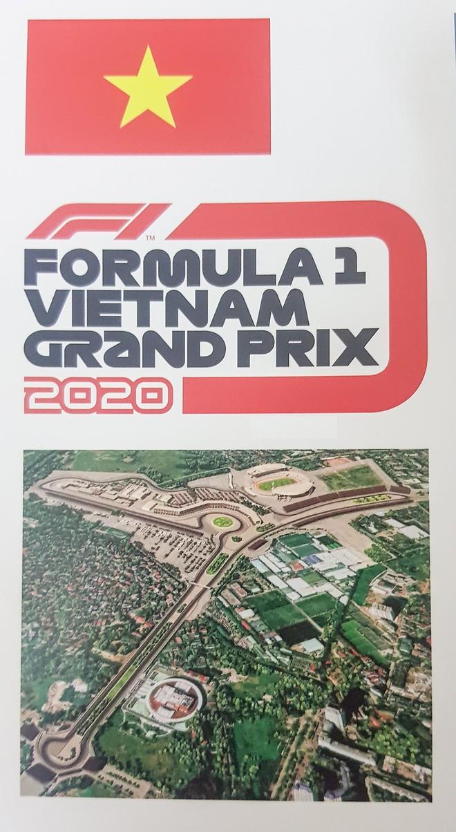 Hé lộ những hình ảnh phối cảnh đầu tiên về đường đua F1 tại Hà Nội - Ảnh 1.