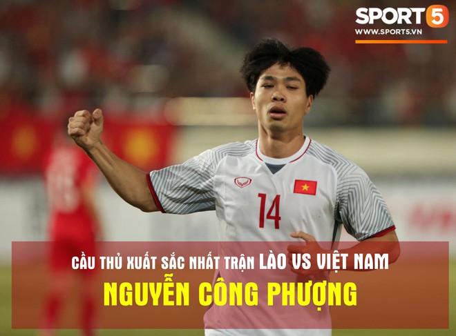 Công Phượng nhận giải cầu thủ xuất sắc nhất trận Lào vs Việt Nam - Ảnh 2.