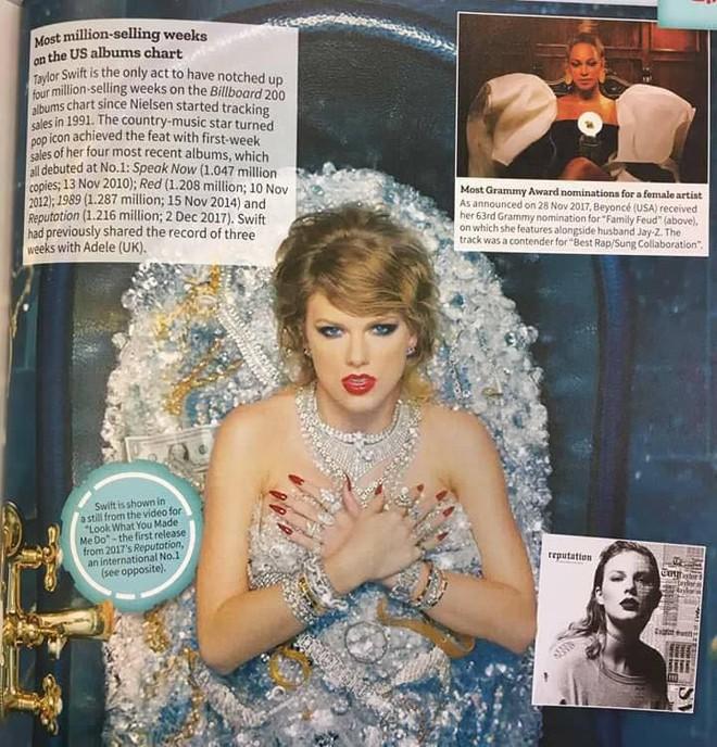 Taylor Swift là nữ nghệ sĩ duy nhất được sách kỷ lục Guinness Thế giới năm 2019 gọi tên nhờ thành tích khủng nào? - Ảnh 1.