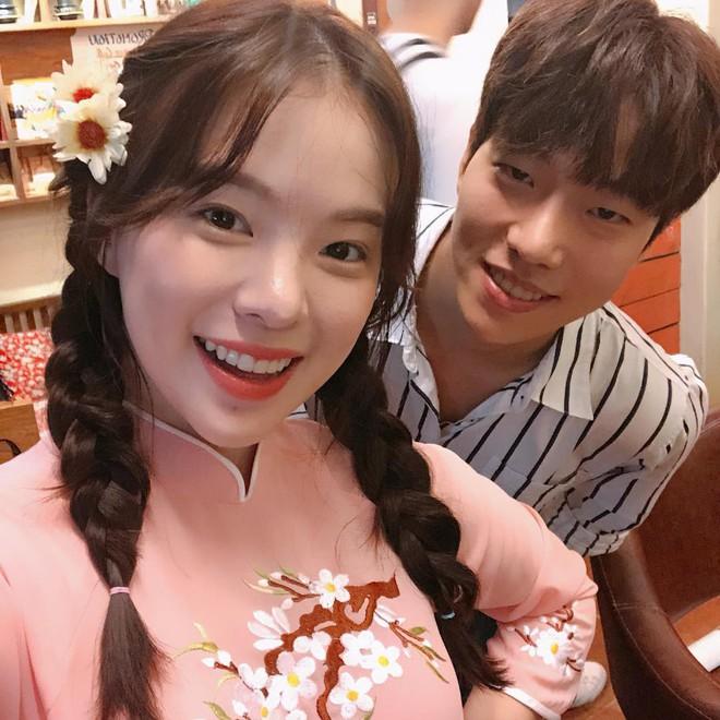 Thiên thần nội y Hàn Quốc Lee Ha Neul đang thăm thú Hội An, khoe ảnh mặc áo dài đội nón lá - ảnh 8